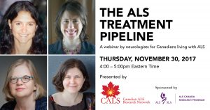 Link to archived webinar: The ALS Treatment Pipeline